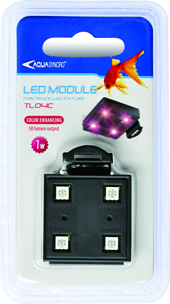 color enhancing led pod for tracklight