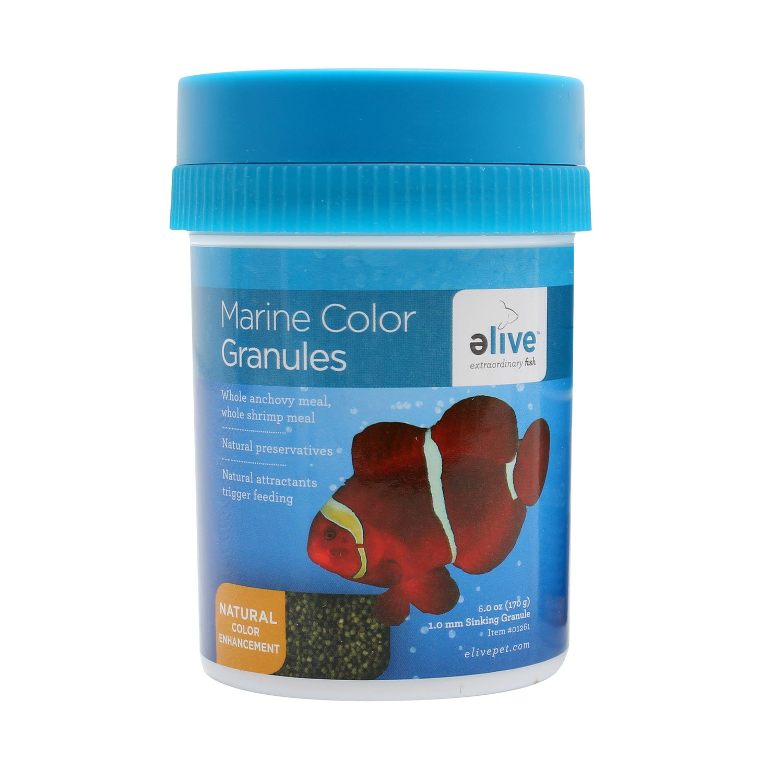 Marine color granules