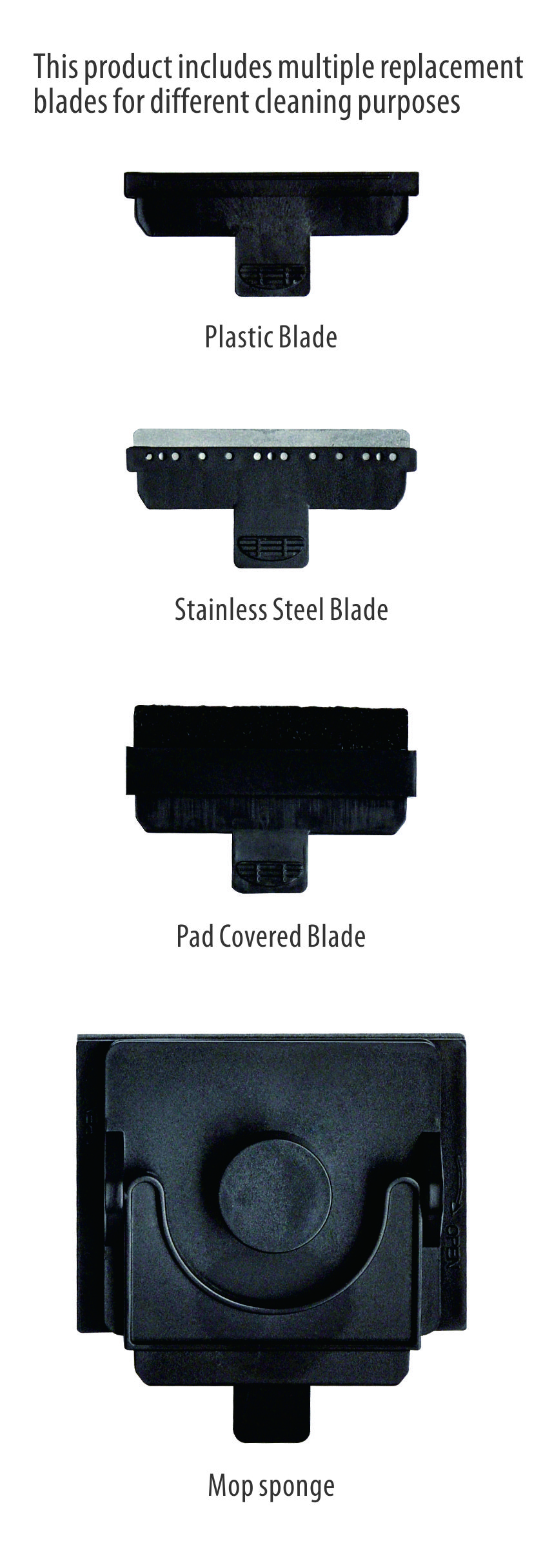 plastic blade for MCT