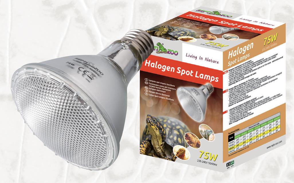 halogen spot lamp