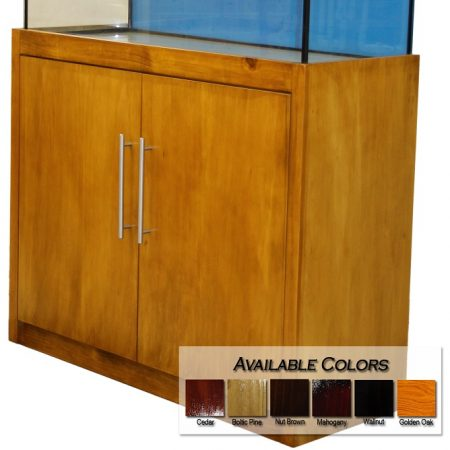 stained cabinet modex style