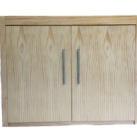 sanded cabinet modex style